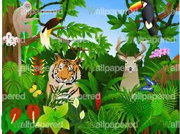 jungle theme wallpaper for kids wallpapersafari children s jungle wall mural kid s jungle wallpaper