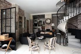 cuisine style loft industriel déco esprit usine ou loft exemples d aménagements