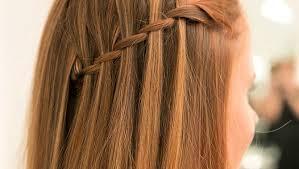 hair style on dailymotion easy waterfall plait braid hair tutorial video dailymotion