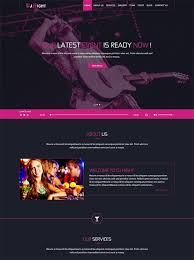 30 best night club website templates free u0026 premium freshdesignweb