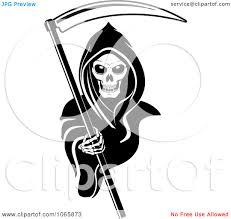 grim reaper clipart classic pencil color grim reaper