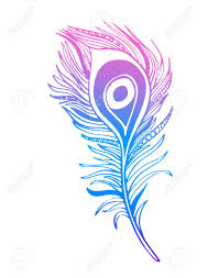 boho ornamental feather line tribalinspired