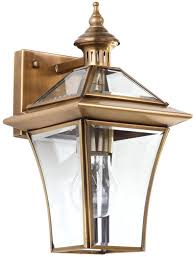 brass outdoor lighting lifetime finish furniture outdoor lighting exterior light fixtures color brass