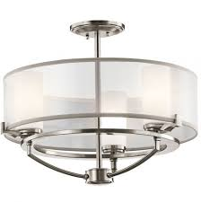 Large Semi Flush Ceiling Lights Chandeliers Design Wonderful Lighting Semi Flush Mount
