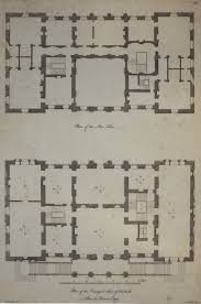 Highclere Castle Floor Plan Plan Of The Stourhead In Wiltshire Hotel Particulier Pinterest