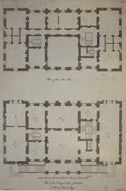 Waddesdon Manor Floor Plan Plan Of The Stourhead In Wiltshire Hotel Particulier Pinterest