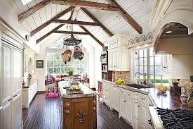 cottage kitchen exposed beam design ideas u0026 pictures zillow digs