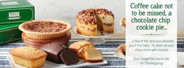thanksgiving pie cake pecan pie coffee cake and other fresh bake treats tate u0027s