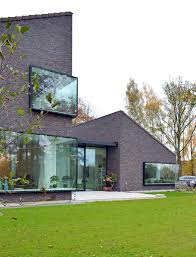 architecture exterior vast green alter belgium house decoration