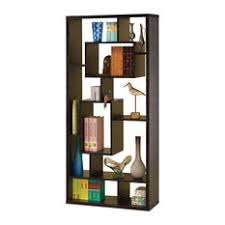 Backless Bookshelf Asymmetrical Bookcases Houzz