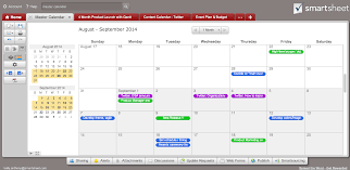 how to schedule a task in windows tip create a calendar dashboard in 7 quick steps smartsheet