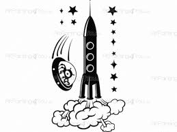 space crafts kit wall stickers for kids vdi1062en