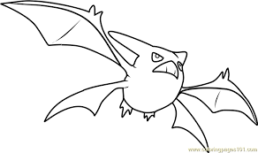 pokemon coloring pages totodile crobat pokemon coloring page free pokémon coloring pages