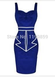 online get cheap sailor dress rockabilly blue aliexpress com