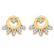 d damas gold earrings d damas gold diamond earrings dde02354 gold earrings