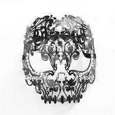 mardi gras skull mask aliexpress buy black white venetian skull mask
