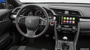 Honda Civic Si Interior 2017 Honda Civic Si Sedan Interior Hd Wallpaper 61