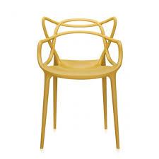 sedia masters kartell prezzo sedia masters gialla di kartell outlet sedie design