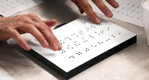 History Of Blindness Building Braille The History Of Braille And Where Design Is