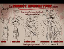 Zombie Apocalypse Meme - zombie apocalypse meme by zoeyfagerlid on deviantart