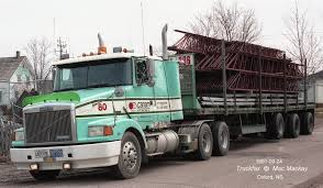 volvo white truck truckfax