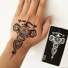 fashion henna tattoo stencils body painting henna tattoo template