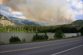 Bc Wildfire Highway Closures by Fire Strikes North Thompson Valley Clearwater Times