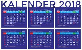 Kalender 2018 Hari Libur Indonesia Kalender 2018 Dengan Penanggalan Jawa Dan Arab Serta Hari Libur