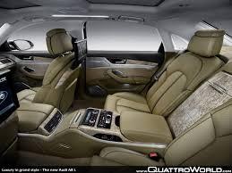 audi q7 6 seat configuration luxury in grand style the audi a8 l quattroworld