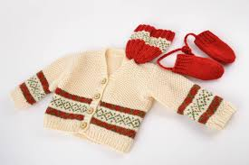 handmade baby items madeheart set of handmade warm knit baby boy clothes 3 items
