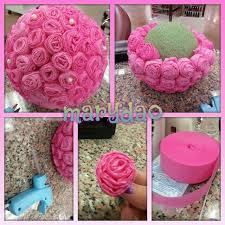 flower diy center decoration craft