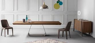 Contemporary Dining Table by Contemporary Dining Table Wooden Glass Metal Amond By Gino