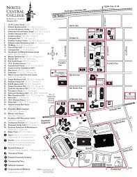 University Of Illinois Campus Map by Smoke And Tobacco Free Campus Map North Central College