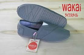 Sepatu Wakai wakai japan slip on kw free grosir sepatu tangerang