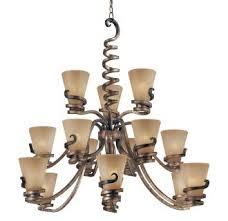 15 Light Chandelier Minka Lavery 1769 211 Tofino Bronze Contemporary Modern 15 Light