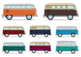 volkswagen van front view vw free vector art 2990 free downloads