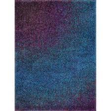 purple accent rugs area rug purple rectangle blue purple gradation pattern modern