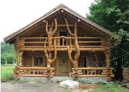 Two Story Log Homes by Amazing Log Home With A Wild Design Home Design Garden