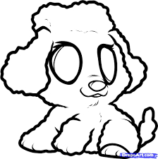 how to draw a realistic toy poodle step by step alltoys for