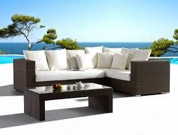 canapé d angle jardin canape d angle de jardin idées décoration intérieure