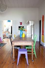 Wood Dining Room Tables And Chairs Best 25 Mismatched Chairs Ideas On Pinterest Mismatched Dining