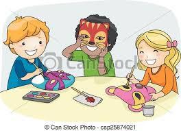 masks for kids kids mask illustration of kids colorful party