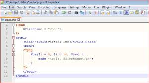 visual basic for loop php tutorial what is php programming it computer training