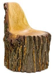 Stump Chair Log Type E