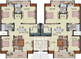 two apartment floor plans multi unit 2 bedroom condo plans search modern minimalist