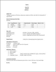 Tips For A Perfect Resume 100 Boeing Resume Format Mechanic Resume Examples Telecom