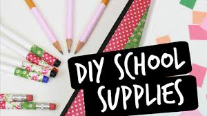 easy diy ways to decorate your supplies youtube