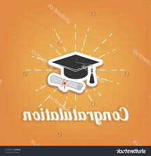 congratulation poster best stock vector congratulation poster graduation party graduate