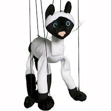 string puppet siamese cat animal marionette string puppet puppet factory will