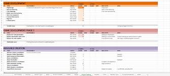 Project Tracking Spreadsheet Game Development Project Management Using Spreadsheets Rpgmaker Net